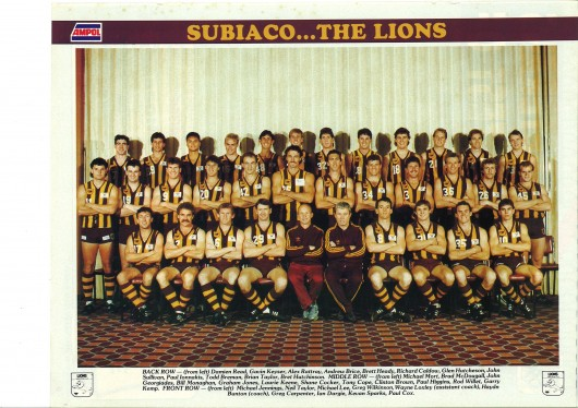 Subiaco Lions Team Shot